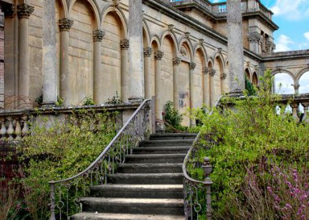 Балконы террасы лестницы